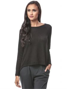 2d284cb872a53d Buy forever 21 black polyester round neck blouse for women 11714005 ...