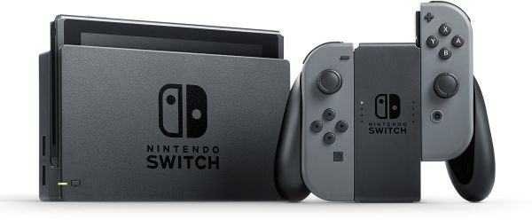 Image result for nintendo switch grey