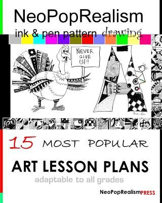 Neopoprealism Ink Pen Pattern Drawing 15 Most Popular Art Lesson