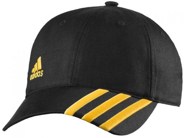 76e9db1958323 Adidas Black Mixed Materials Baseball Hat For Unisex