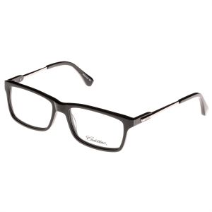 826a534346f Cadillac Rectangle Unisex Eyewear Frame - 1525 C1 - 55-17-145