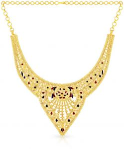 Shop necklaces at Amazon CollectionMalabarEw Jewellery House UAE