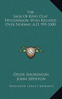 Souq the saga of king olaf tryggwason who reigned over norway 17850 aed fandeluxe Image collections