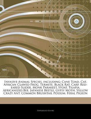 Articles On Invasive Animal Species Including Cane Toad Cat