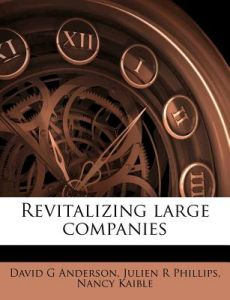 Revitalizing Large Companies by David G. Anderson, Julien R. Phillips, Nancy Kaible - Paperback
