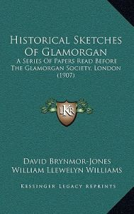 Historical Sketches of Glamorgan: A Series of Papers Read Before the Glamorgan Society, London (1907) by David Brynmor-Jones, William Llewelyn Williams, D. Bryant - Hardcover