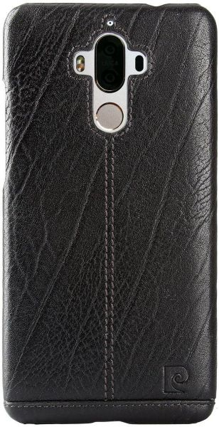 new concept 4bbae fc6dd Pierre Cardin Leather Back Cover Case For Huawei Mate 9
