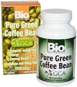 Bio Nutrition Pure Green Coffee Bean 800 Mg 50 Capsules Buy
