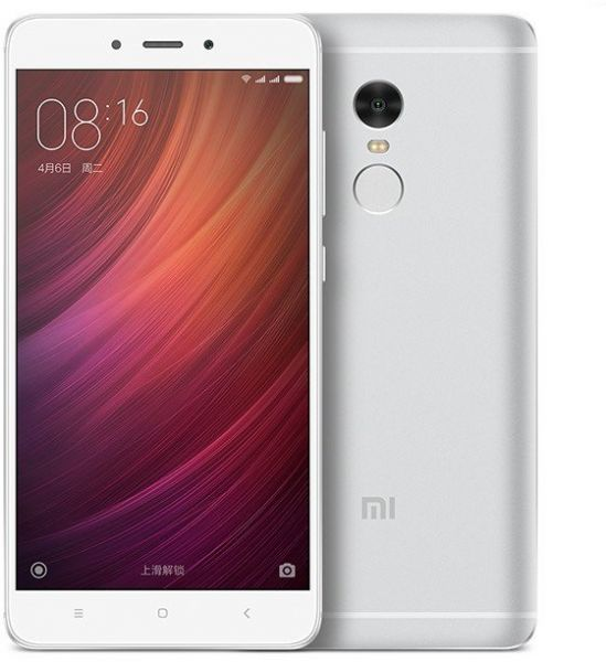Xiaomi Redmi Note 4 Dual SIM - 64GB, 3GB RAM, 4G LTE, Silver - Chinese  Version