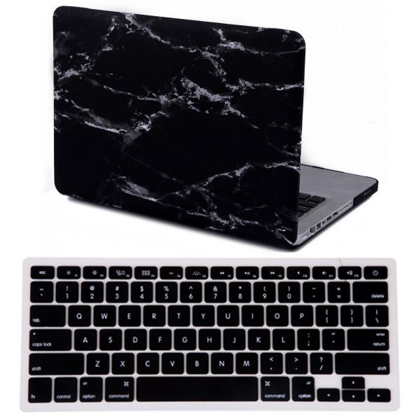 Aleesh Black And White Marble Macbook Pro 13 And 13 3 Inch