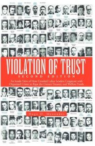 Violation of Trust Second Edition: An Inside View of How Crooked Labor Leaders Cooperate with Organized Crime to Rape the Union's Treasury and Welfare by Hugo D. Menendez - Paperback