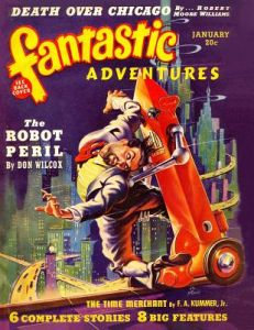 Fantastic Adventures: January 1940 by Don Wilcox, Robert Moore Williams, F. a. Kummer Jr - Paperback