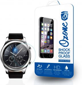 Ozone Samsung Gear S3 Classic/Frontier 0.33mm Shock Proof Tempered Glass Screen Protector
