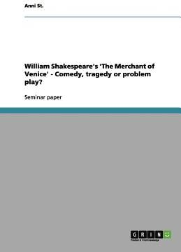 Download PDF William Shakespeares The Merchant of Venice - Comedy