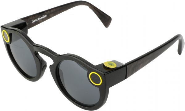 e4b1e6248b36 Snapchat Spectacles Compatible with IOS and Andriod - Black