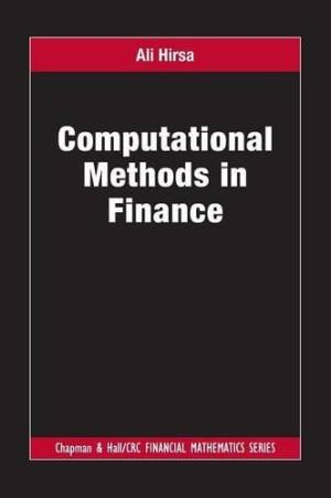 Computational Methods In Finance, by Ali Hirsa