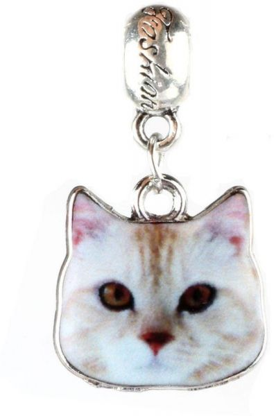 Cat Charm For Pandora Bracelet By Crystal H Brand Souq Uae
