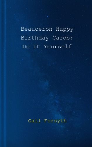 Beauceron happy birthday cards do it yourself by gail forsyth 5355 aed solutioingenieria Gallery