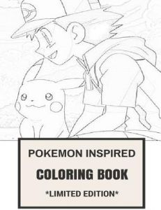 Pokemon Inspired Coloring Book Go World And Exploration Video Game Adult By