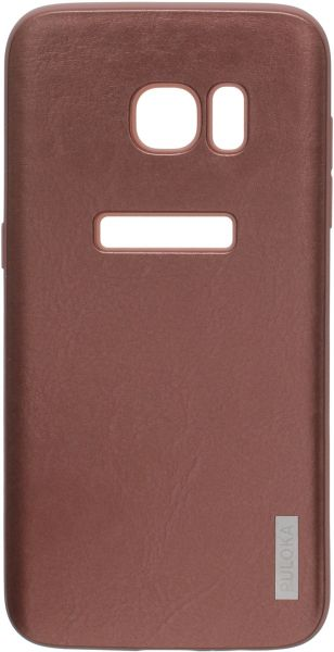 promo code 39198 9f7d1 Puloka Back Cover For Samsung Galaxy S7 Edge-Brown | KSA | Souq