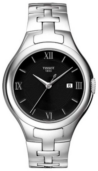 1c7fde28f8c Tissot T-Trend T12 Women s Black Dial Stainless Steel Band Watch -  T082.210.11.058.00