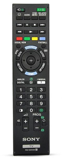 sony tv remote control. 75.00 aed sony tv remote control r