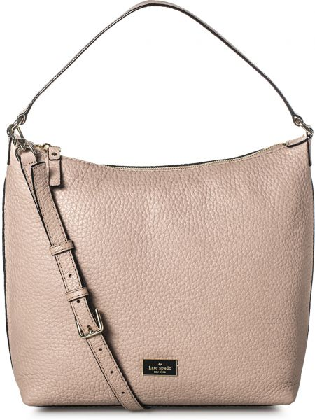 Kate Spade Pxru6622 231 Hobos For Women Leather Beige