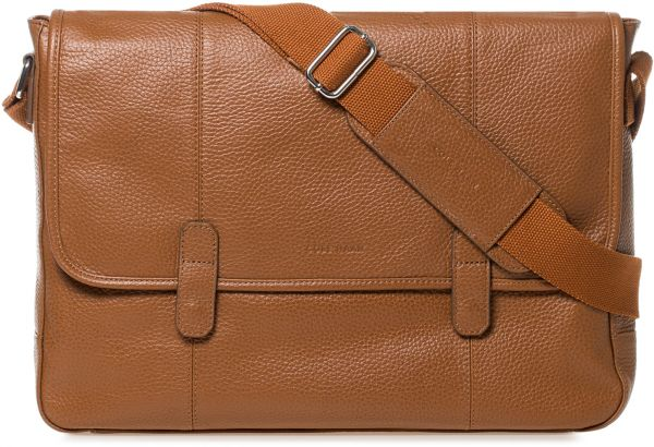 Cole Haan Leather Bag For Men Tan Messenger Bags By Handbags