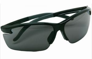 7f3eed0fa6 Msa Pyrenees Impact Resistant Safety Glasses With Black Frame And Gray  Polycarbonate Anti-fog Lens