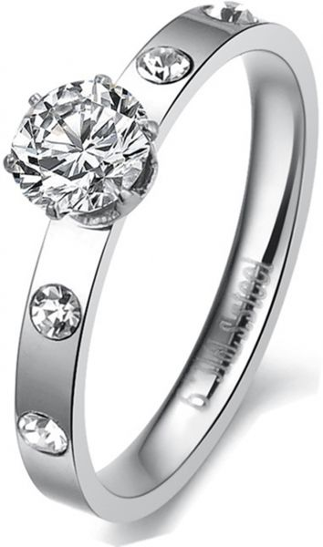 ring alluring with carat engagement simulated accents item diamond rings