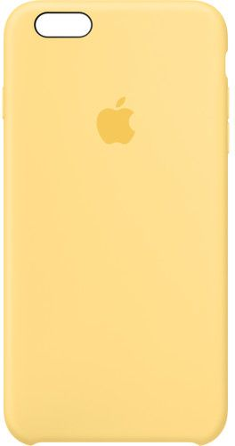 official photos 65872 ba5c7 Apple iPhone 6 Plus / 6s Plus Silicone Case - Yellow, MM6H2ZM/A