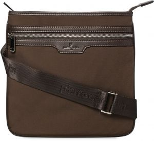Pierre Cardin Crossbody Bags for Men, Brown