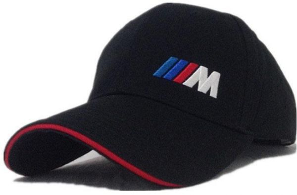 dce6465c253 BMW M sports Black   Red Cotton Baseball Hat For Unisex