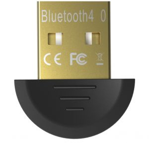 Vention Mini USB Bluetooth 4.0 Adapter Dual Mode Wireless Dongle, Gold...