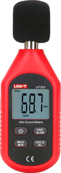 UNI-T UT353, SOUND LEVEL METER