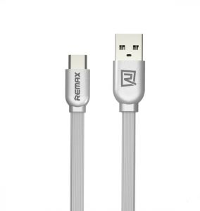 Remax RC-047a USB to Type C Cable - Silver