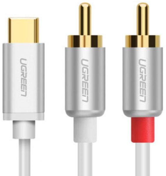 Souq 15 meters ugreen 24k gold plated usb type c to 2 rca audio 15 meters ugreen 24k gold plated usb type c to 2 rca audio cable for smart phone laptop tablet connecting speaker amplifier keyboard keysfo Choice Image