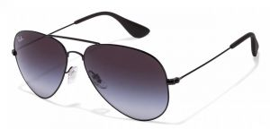65f0d91d0e6 Ray-Ban RB3558 002 8G Size-58 Black Gradient Aviator