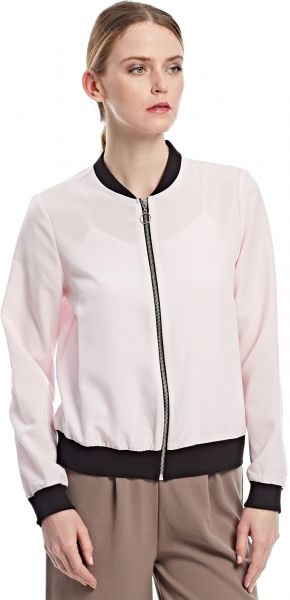 7f42fdb80 KOTON Pink Polyester Bomber Jacket For Women