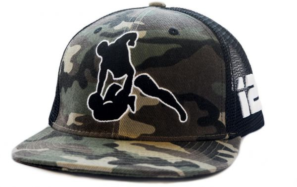 Beck Camouflage Green Acrylic Snapback For Men  e30209dc2b8