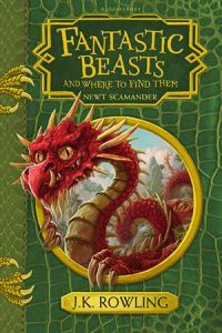 Fantastic Beasts and Where to Find Them Hogwarts Library Book Hardcover