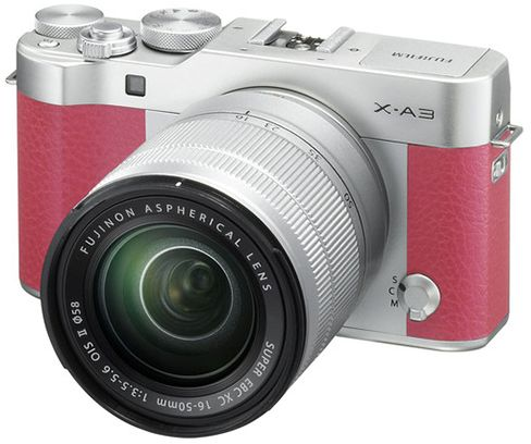 Fujifilm x a3 24 3 mp mirrorless digital camera with xc - Emirates camera ...