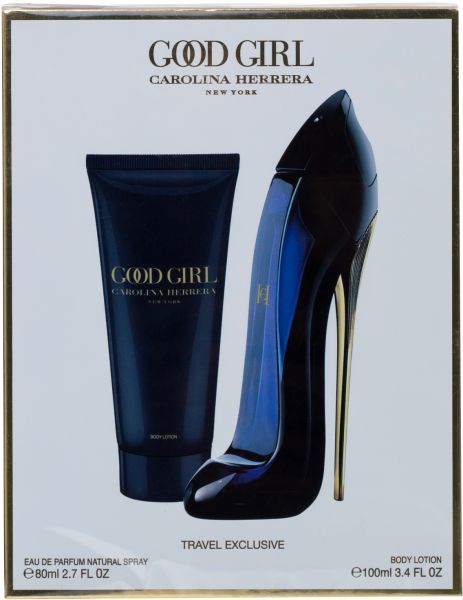 a133fb9413 Good Girl By Carolina Herrera Eau de Parfum, Gift Set (Body Lotion 100  ML+EDP 80 ML) | KSA | Souq