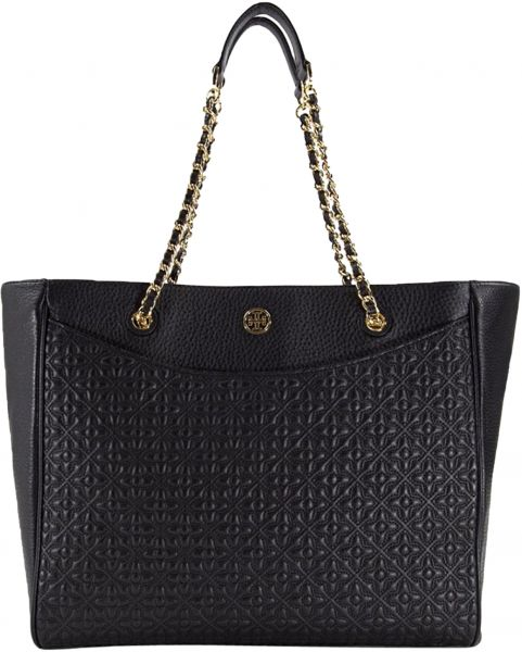 Buy Tory Burch Bryant Tote Bag For Women Leather Black