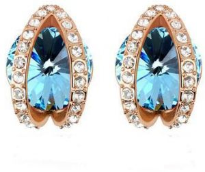 d22825373 Austrian Crystal earrings Swarovski elements crystal jewelry for delicate  women gold plated accessories