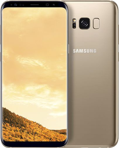 Samsung Galaxy S8+ Dual Sim - 64GB, 4G LTE, Maple Gold