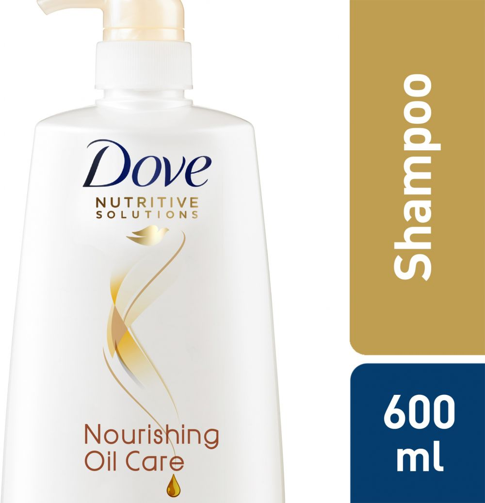 Dove Shampoo Nourishing Oil, 600ml