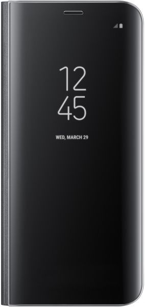 Samsung Galaxy S8 Clear View Standing Cover - Black, EF-ZG950