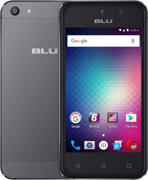 Blu Vivo 5 Mini Dual Sim - 8GB, 512MB RAM, 3G, Grey