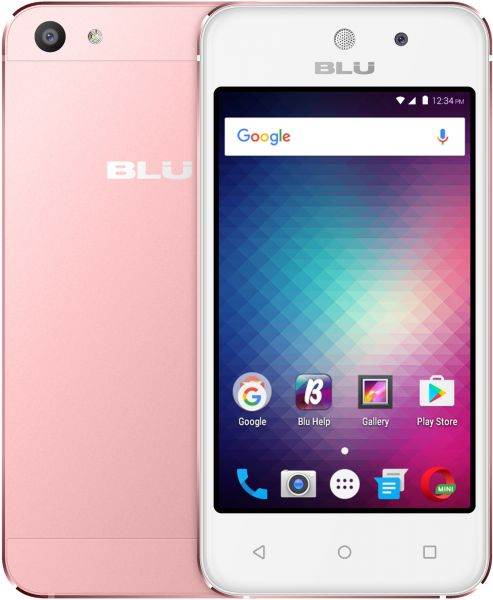 Blu Vivo 5 Mini Dual Sim - 8GB, 512MB RAM, 3G, Rose Gold